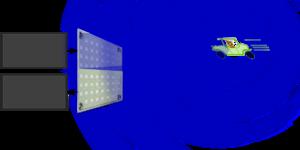 Continuous-wave radar - Image: Cw radar