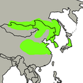 Cyanopica cyanus distribution.png