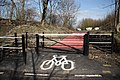 Cycle route access - geograph.org.uk - 1773924.jpg