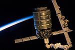 Cygnus 1 grappled by Canadarm2 (b).jpg