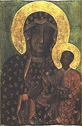 anonim: Obraz Matki Boskiej Częstochowskiej
