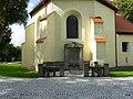 Czeszewo, Polska , miejsce pochówku Szumana przy kościele św. Andrzeja - panoramio.jpg