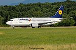 "D-ABEK Boeing B737-330 B733 - DLH "" Fanhansa"" (28670267075).jpg"