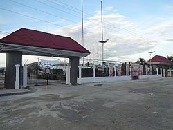 D.O. Plaza Memorial Government Center Gate in Prosperidad