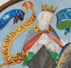Maria of Portugal, Queen of Castile - Maria of Portugal, in Antonio de Hollanda's Genealogy of the Royal Houses of Spain and Portugal (1530–1534)