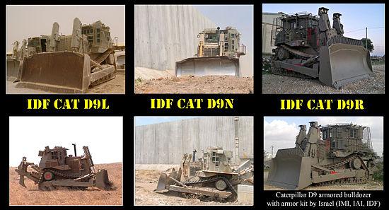 Resultado de imagen para excavadora blindada D9