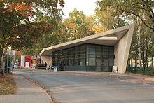 L'ingresso principale del DESY ad Amburgo