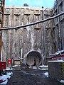 DOD Červený vrch, směr centrum, jižní tunel.jpg