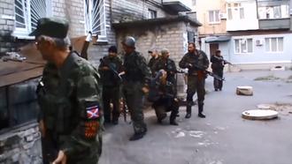 Battle of Ilovaisk - Motorola's Division fighters in Ilovaisk