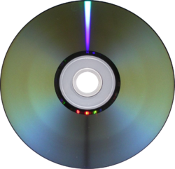 DVD-R read/write side