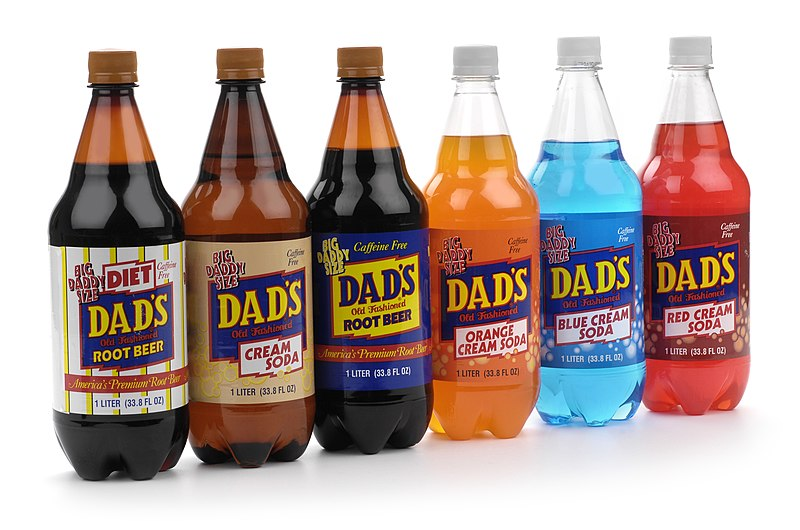 File:Dad's Root Beer Co. Products in 1 Liter Group Shot.jpg