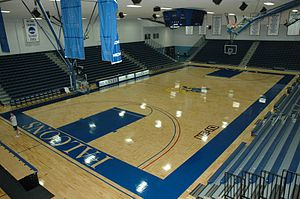 Bentley University - Bentley University Basketball Gymnasium located in the Dana Athletic Center