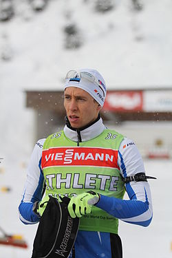 Daniil Steptšenko in Hochfilzen 2012 (Training)