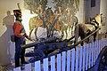 Danish-Norwegian foot artillery uniform ca 1810. Norw. horse-drawn gun carriage 1809 with removable wheels to make sledge (trønderaffutasje). Dragoner 1808 by A. Bloch. Armed Forces Museum (Forsvarsmuseet) Oslo 2020-02-24 2745.jpg