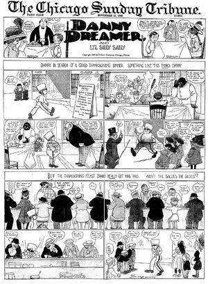 Clare Briggs - Clare Briggs' Danny Dreamer (November 22, 1908)