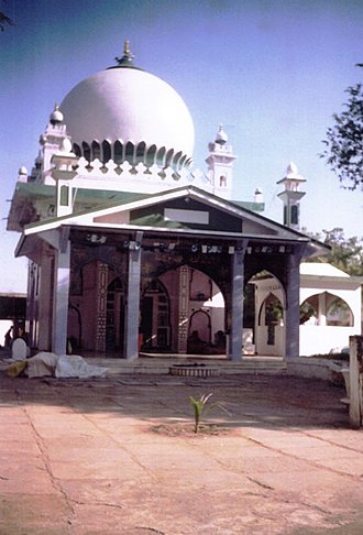 Bijapur - Tomb or Dargah of Sufi Saint Hazrat Murtuza Quadri located at western side Bijapur