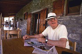 Dario Fo alla Libera Università di Alcatraz, presso Gubbio, nel 1988