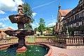 Das Kloster Bronnbach, der prächtige Brunnen.jpg