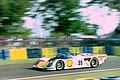 Dauer 962 LM - Hans-Joachim Stuck, Thierry Boutsen & Danny Sullivan at the 1994 Le Mans (31161085613).jpg