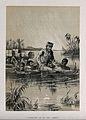 David Livingstone, suffering from fever, carried through a r Wellcome V0018855ER.jpg