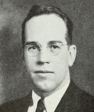 David V. Anderson - Anderson after his 1940 election as Vermont Auditor