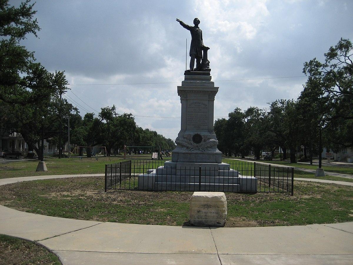jefferson davis monument wikipedia
