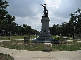 Jefferson Davis Monument - The monument in 2015