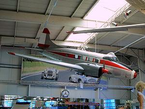 DeHavilland D.H.104 Dove at Sinsheim.JPG