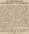 De Tijd vol 094 no 30229 Avondblad De rectoraatsoverdracht te Nijmegen.jpg