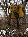 Dead End, Keep Left (Brackenridge, PA) (5291131608).jpg