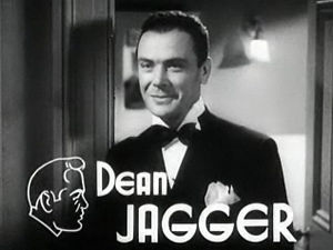Dean Jagger - in Dangerous Number (1937)