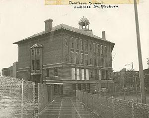 Dearborn School - Dearborn School in 1957