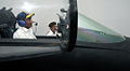 Defence Minister AK Antony piloting a MiG-29K flight on a state of the art simulator.jpg