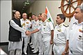Defence Minister Arun Jaitley reviews Operational Readiness at Western Naval Command (1).jpg