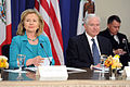 Defense.gov News Photo 110429-D-XH843-007 - Secretary of State Hillary Clinton and Secretary of Defense Robert M. Gates participate in the U.S. Mexico High Level Consultative Group meeting.jpg