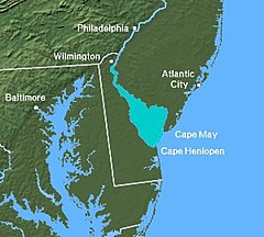 Delaware Bay Us Map Delaware Bay   Wikipedia