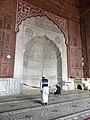 Delhi Freitagsmoschee - Mihrab groß 2.jpg