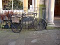 Delivery bike, Dalton Square, Lancaster - geograph.org.uk - 651971.jpg