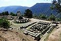 Delphi-Athena Pronaia Temple.jpg