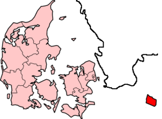 Burgundians - Location of the island of Bornholm