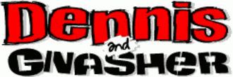 Dennis the Menace and Gnasher - The 2009 logo.