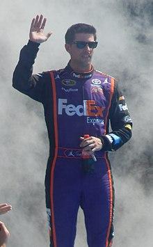 Denny Hamlin at the Daytona 500 (cropped).JPG