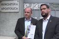 Deputies pleading the Juan Requesens case at the Nunciatura Apostolica in August 2018.png