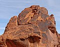 Desert varnish - Valley of Fire State Park.JPG