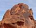 Desert varnish - Valley of Fire State Park.JPG