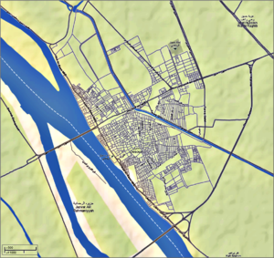 Desouk - Image: Desouk City Map 3