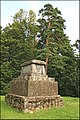 Destroyed monument to Manteuffel baron - panoramio.jpg