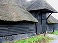 Detail on thatched barn near Wingham Barton Manor - geograph.org.uk - 646151.jpg