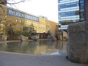 English: Devonian Pond,Ryerson University, Tor...