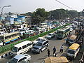 Dhaka traffic near New Market by Ragib.jpg